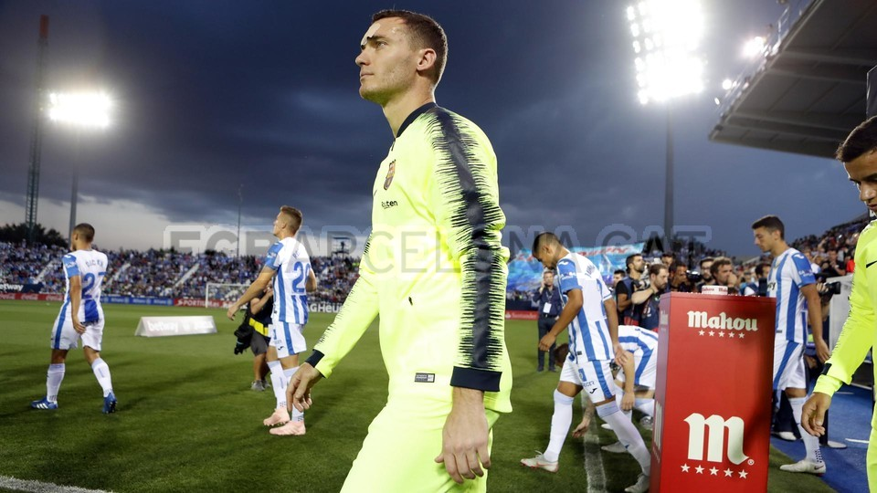 صور مباراة : ليغانيس - برشلونة 2-1 ( 26-09-2018 ) 99848453