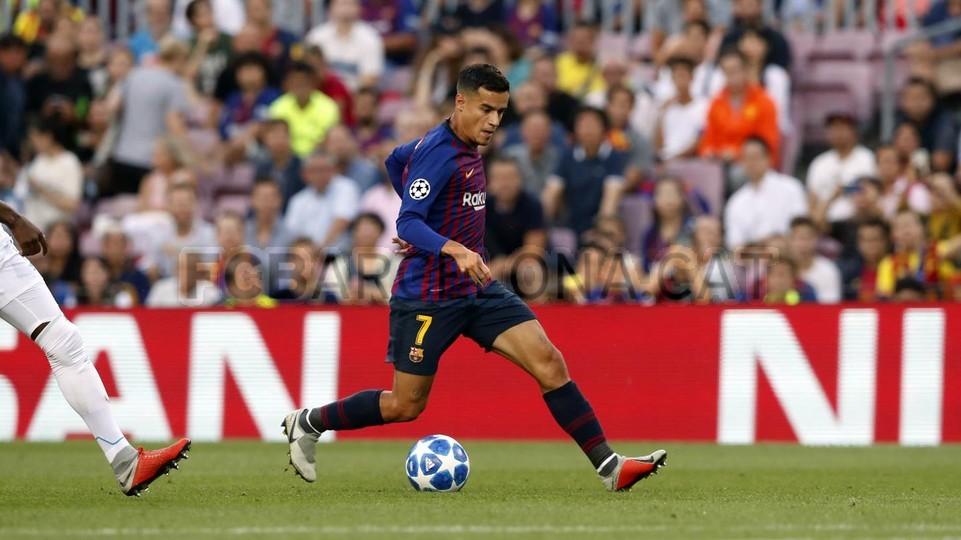 صور مباراة : برشلونة - PSV إندهوفن 4-0 ( 18-09-2018 )  98884146