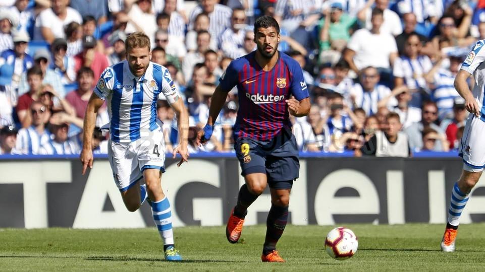 صور مباراة : ريال سوسيداد - برشلونة 1-2 ( 15-09-2018 ) 98507314