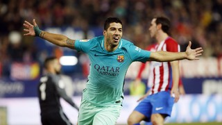 At. Madrid 1 - FC Barcelona 2 (3 minutes)