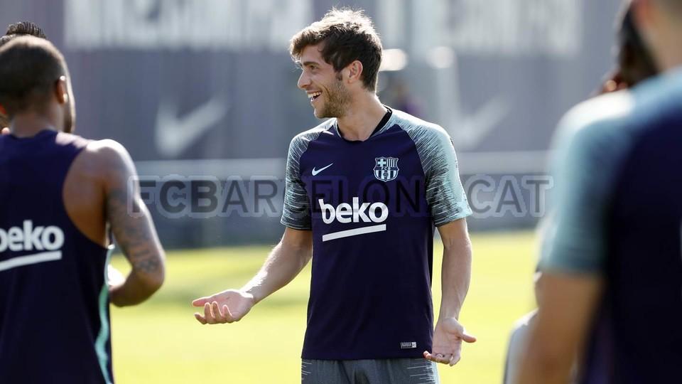 تدريبات مكثفة في برشلونة استعداداً لمباراة الأحد ضد جيرونا 21-09-2018 99246898