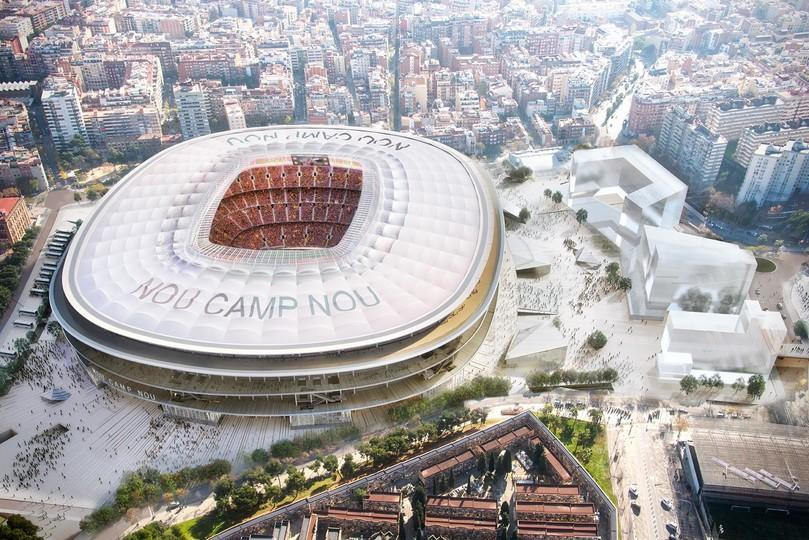 new camp nou opens to the world - fc barcelona