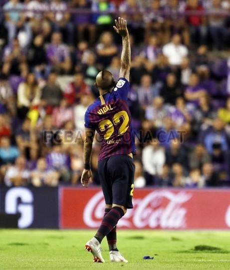 صور مباراة : بلد الوليد - برشلونة 0-1 ( 25-08-2018 )  96768563