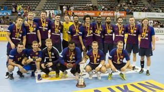 Fraikin Granollers - Barça Lassa: Campeones de la Supercopa Catalunya (25-43)