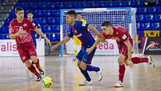 FC Barcelona Lassa 2 - ElPozo Murcia 3 (LNFS)