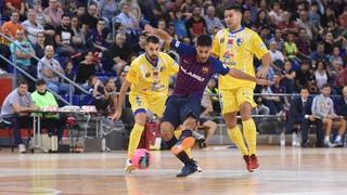 Barça Lassa 1 – 2 Peníscola Rehabmedic (J05 LNFS)