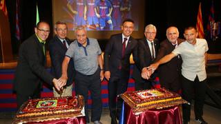 Josep Maria Bartomeu preside el XVI encuentro de Peñas de Tarragona Norte