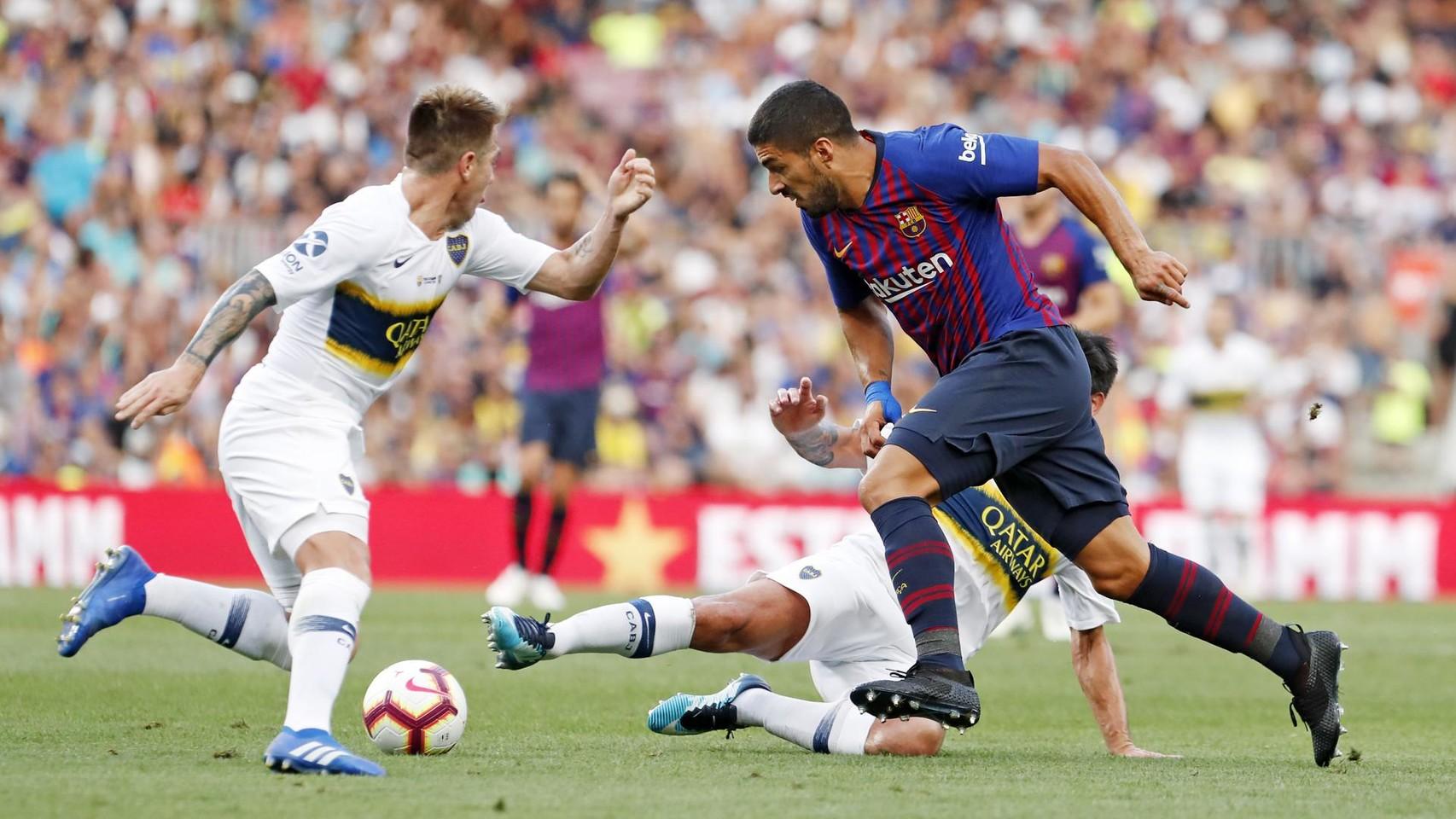 صور مباراة : برشلونة - بوكا جونيورز ( 16-08-2018 )  95974966