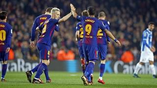FC Barcelona 2 - RCD Espanyol 0 (3 minutes)