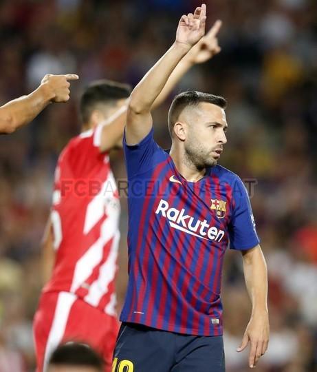 صور مباراة : برشلونة - جيرونا 2-2 ( 23-09-2018 )  99596598