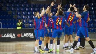 Valladolid 25 - FC Barcelona Lassa 38 (ASOBAL)