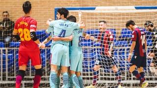 Levante UD 3 - FC Barcelona Lassa 9 (LNFS)