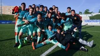Badalona - Juvenil B: ¡Campeones de Liga! (1-5)