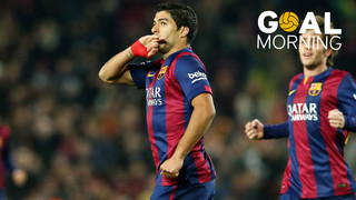 Goal Morning! Let's start the day with this Luis Suarez's goal...