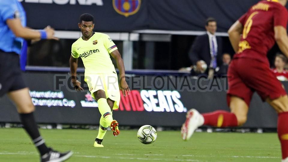 صور مباراة : برشلونة - روما 4-2 ( 01-08-2018 )  95179830