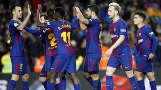FC Barcelona 6 - Girona 1