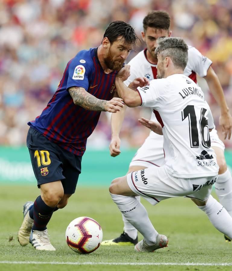صور مباراة : برشلونة - هويسكا 8-2 ( 02-09-2018 )  97419575