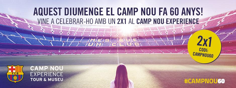 CAMP NOU EXPERIENCE: TOUR & MUSEU