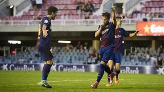 FC Barcelona B 1 - Lorca 0 (Liga)
