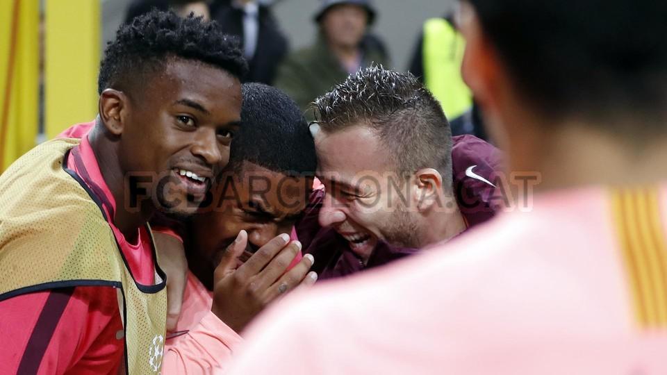 صور مباراة : إنتر ميلان - برشلونة 1-1 ( 06-11-2018 )  102198584