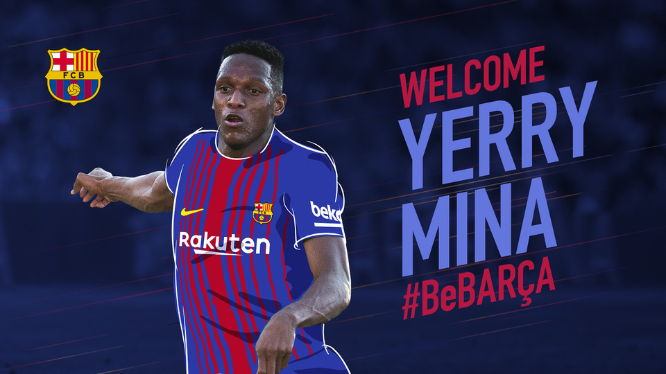 Agreement for the transfer of Yerry Mina - FC Barcelona
