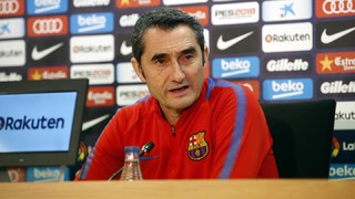 Ernesto Valverde: 'We will try and control the game from the start'