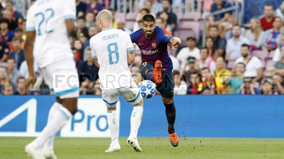 صور مباراة : برشلونة - PSV إندهوفن 4-0 ( 18-09-2018 )  98884152