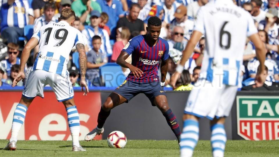 صور مباراة : ريال سوسيداد - برشلونة 1-2 ( 15-09-2018 ) 98507320