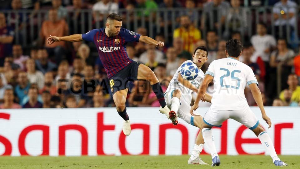 صور مباراة : برشلونة - PSV إندهوفن 4-0 ( 18-09-2018 )  98901816