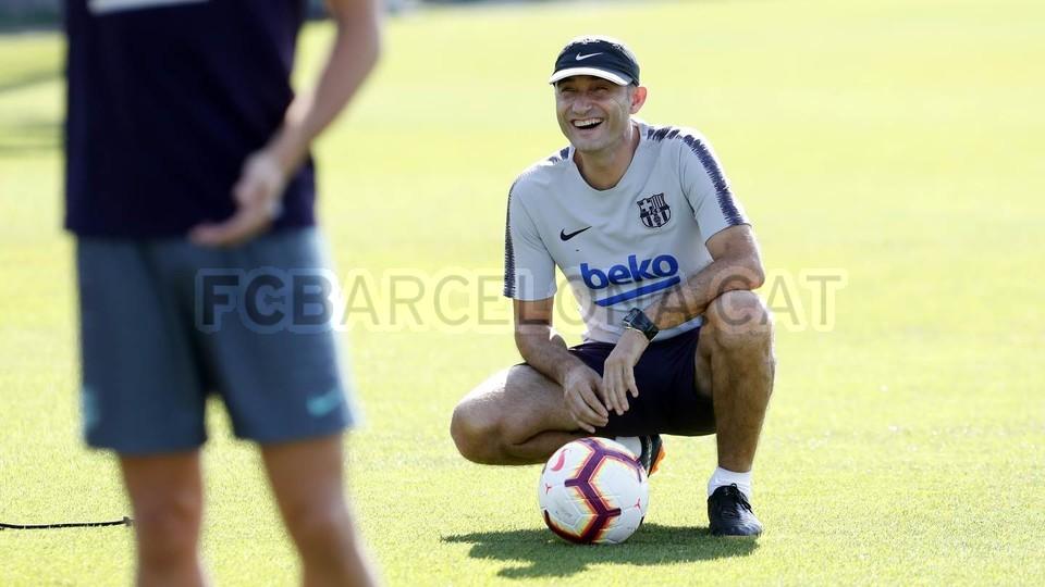 تدريبات مكثفة في برشلونة استعداداً لمباراة الأحد ضد جيرونا 21-09-2018 99246904