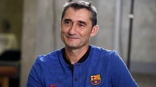 Ernesto Valverde, expectant davant les visites a Bilbao i Atenes