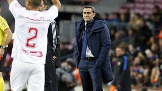 Ernesto Valverde: The attitude was excellent