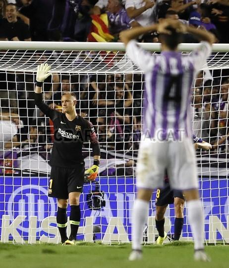صور مباراة : بلد الوليد - برشلونة 0-1 ( 25-08-2018 )  96768569
