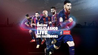 Saturday and Sunday will see the Club's official Facebook page offer up to six Live events related to Real Madrid v Barça