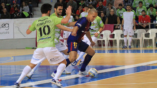 Palma Futsal v FC Barcelona Lassa: Electric draw at Son Moix (4-4)