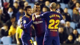 Celta 1 - FC Barcelona 1