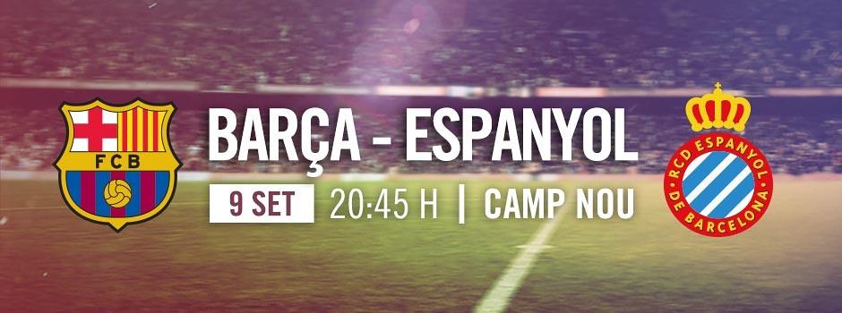 Entrades Barça VS Espanyol 2017-18