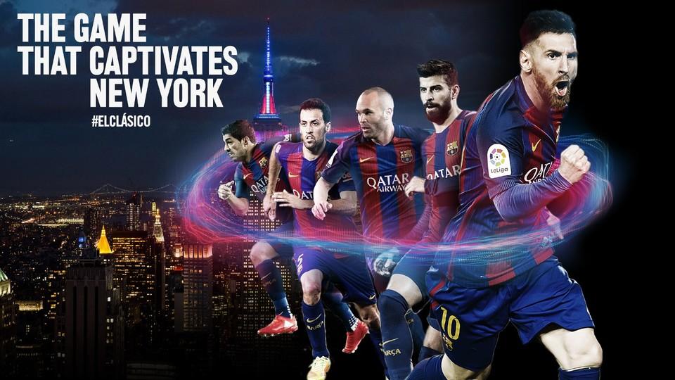 el cl sico in new york   fc barcelona