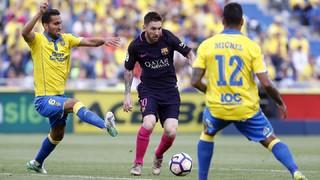 Las Palmas 1 - FC Barcelona 4 (3 minutos)