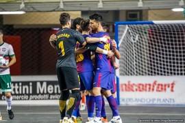 FC Barcelona Lassa 3 - Luparense 3 (UEFA Futsal Cup)
