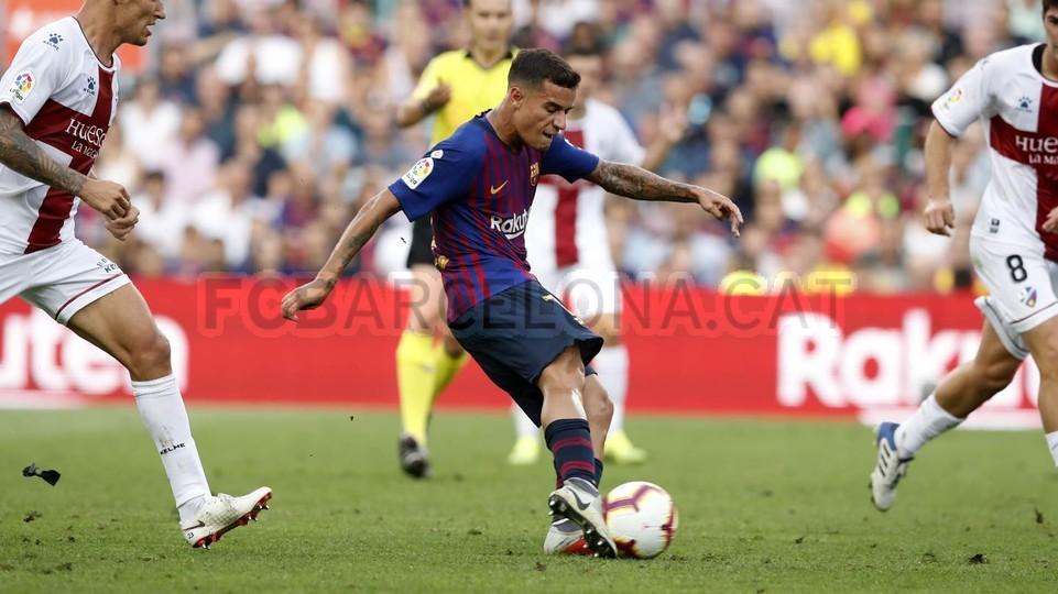 صور مباراة : برشلونة - هويسكا 8-2 ( 02-09-2018 )  97425670