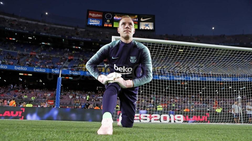 صور مباراة : برشلونة - جيرونا 2-2 ( 23-09-2018 )  99596550