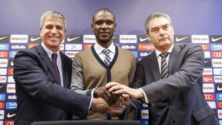 Éric Abidal happy to be home