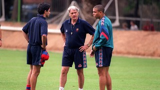 Remeber coach: Bobby Robson