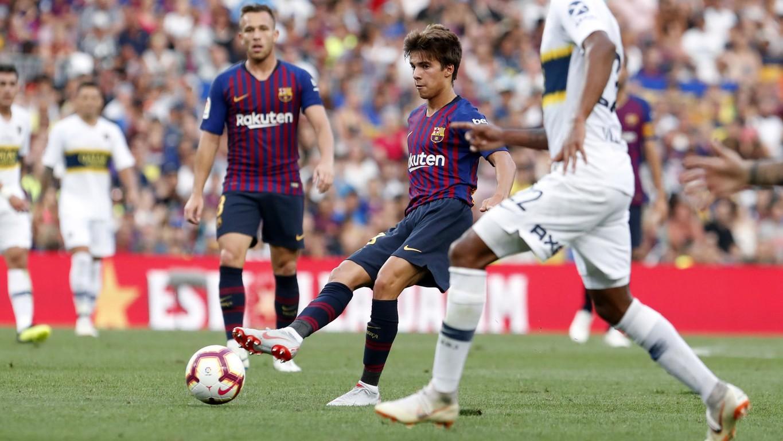 صور مباراة : برشلونة - بوكا جونيورز ( 16-08-2018 )  95974973