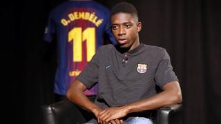 """Ousmane Dembélé: """"M'encanta l'estil de joc del Barça"""""""
