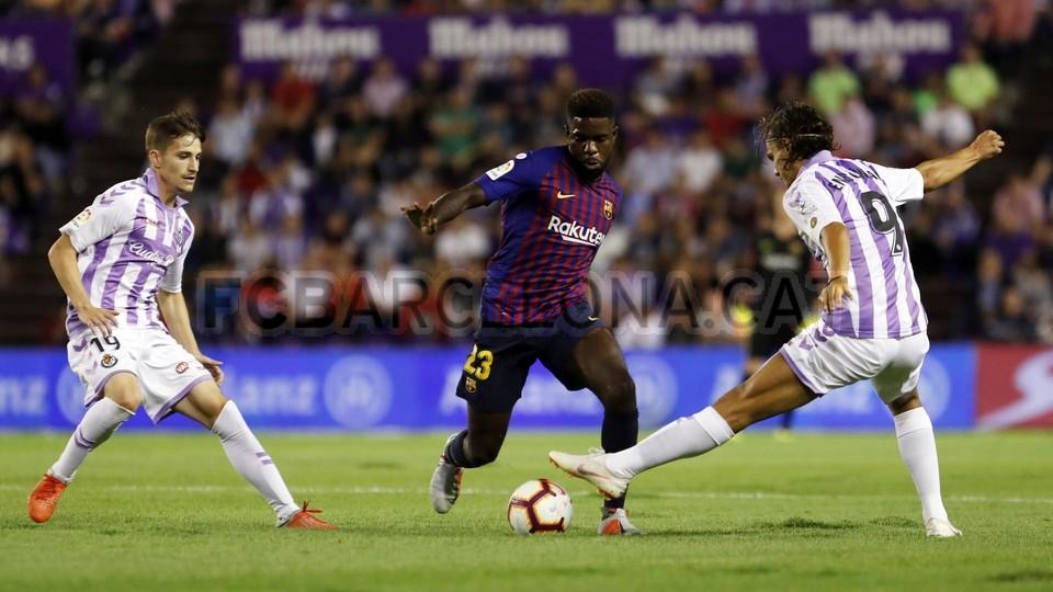 صور مباراة : بلد الوليد - برشلونة 0-1 ( 25-08-2018 )  96710205