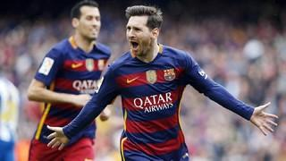 FC Barcelona 5 - Espanyol 0