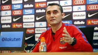 Ernesto Valverde only thinking about Eibar