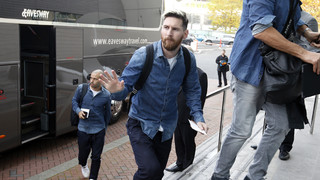 Messi's day in Manchester